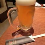 焼肉ブルズ亭 - 生ビールで乾杯!