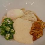 三輪山本 お食事処 - (撮影 20180804)酷暑にはねばねばということで、大和芋とろろにゅうめんセットを頂きました。