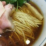 中華そば 四つ葉 - 麺