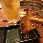 焼肉ブルズ亭 - 豚バラもタレで....