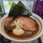 90367369 - 炙り煮干正油らぁ麺