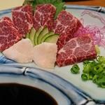 浜料理 侍 - 大トロ馬刺