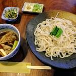古民家ひらぬま - 料理写真:肉汁うどん