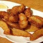Irish Pub GNOME - フィッシュ アンド チップス Fish & Chips 850円(Small 500円)
