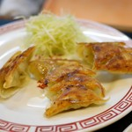 旭軒 - 焼餃子 350円