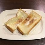 イタリアン・トマトカフェジュニア - モーニングトーストセット280円