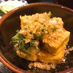 五平田・蔵 - 揚げ出し豆腐