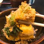五平田・蔵 - 揚げ出し豆腐 丁度いいサイズ〜