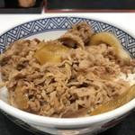 吉野家 - 料理写真:定番中の定番、牛丼並のつゆだく(2018.8.5)