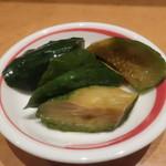 中国四川料理きりん - お通し