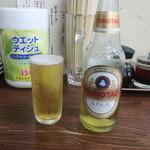 90372432 - 青島プレミアムビール(瓶)