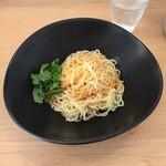 濃厚担担麺 博多 昊 - 汁なし胡麻担々麺870円税込です。