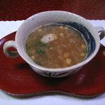 ドウラク - 料理写真:オニオンスープ