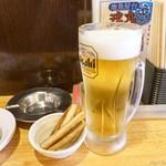 戎丸 - 2018年6月 生ビールアサヒ【360円】
