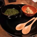 日本料理 嘉助 - 蕪に付ける薬味