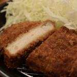 カツカレー専門店 新宿カレー  - カツはこんな感じ