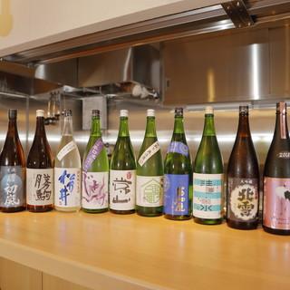 ■日本酒の鮮度にこだわる。
