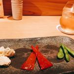 串揚げ 依知川 - 前菜