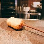 串揚げ 依知川 - 豚の角煮