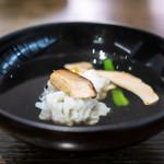 Kenzoesuteitowainari - 鱧 清汁仕立て
