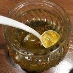 麺屋 ねむ瑠 - 日本山椒のピュアオリーブオイル