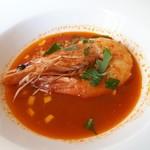 90385437 - 「天使の海老 魚介スープとともに」