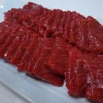 佐々木精肉店 - 料理写真:馬刺し(上)200g