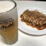 カフェ シュシュ - 生ビールととんぺい焼き