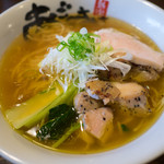 Menyaagosuke - 料理写真:旨塩ラーメン