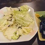 あひる - 食べ放題まで必須メニュー 野菜炒め的な