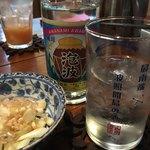 味〇 - ドリンク写真:波照間島波照間酒造所産 幻の泡盛『泡波』