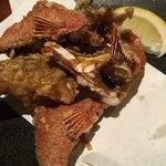 味〇 - 料理写真:グルクンの唐揚げが品切れで、代わりに頼んだ島ハタの唐揚げ