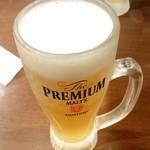 麺場 田所商店 - 生中
