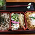 北のそば和佳亭 - カツ丼セット@900円茶碗蒸し無し