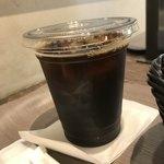 ベーカリー&カフェ カスカード - アイスコーヒー。 税抜260円。 美味し。