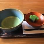 90393132 - チェックインは抹茶と和菓子から
