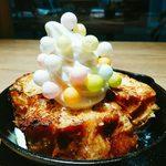 KITCHEN まるしん - フレンチトーストおいりクリームのせ(780円)