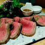 KITCHEN まるしん - 国産牛ローストビーフ(1800円)