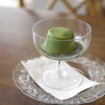 レストラン シン - 抹茶ババロア