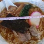 ことぶき - 料理写真:ラーメン400円 丼の直径20cm