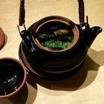 90397274 - 松茸と鱧の土瓶蒸し