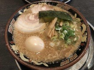 風来軒 加納本店 - とんこつ(こってり) ※煮卵のせ ※ネギ量多め