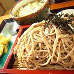 寿司ショップ彩 - ドバそば大柳セイロ(温)
