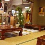 寿司ショップ彩 - 店内座敷
