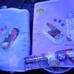 魚光 - (左)シャケ弁500円と(右)ハンバーグ弁当600円