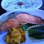 魚光 - かがみん弁当¥500