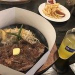 肉のはせ川 - バラエティセット(ポテト、ウインナー、ナゲット)/¥480