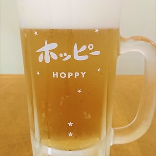 柏を含め関東近郊50店舗でしか味わえない【生ホッピー】是非!