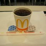 マクドナルド - 「プレミアムローストアイスコーヒー」です。