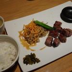 鉄板焼 天 - ランチコース(3800円)特製サーロイン